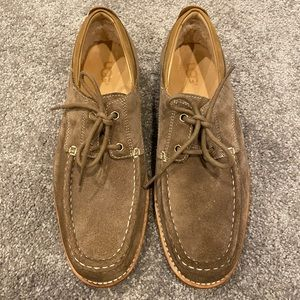 UGG Men's Suede Laced Oxford Shoes